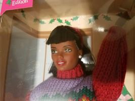 Vintage 1990's African American Tree Trimming Barbie NRFB #23385   - $30.00