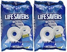 Life Savers, Pep-O-Mint Hard Candy, 41oz Bag (3 Case(41oz)) - $49.95