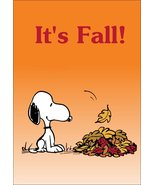 """Snoopy Charlie Brown Peanuts """"It's Fall"""" Stand-Up Display - Halloween Gi... - $15.99"""