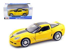 2009 Chevrolet Corvette C6 Z06 GT1 Yellow Commemorative Edition 1/24 Die... - $50.99