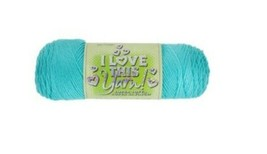 Hobby Lobby I Love This Yarn Sport Weight in Turquoise #1172584