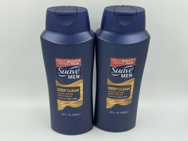 Suave Men Deep Clean Exfoliating Body Wash 28 Oz. Sandalwood 2-Pack - $28.99