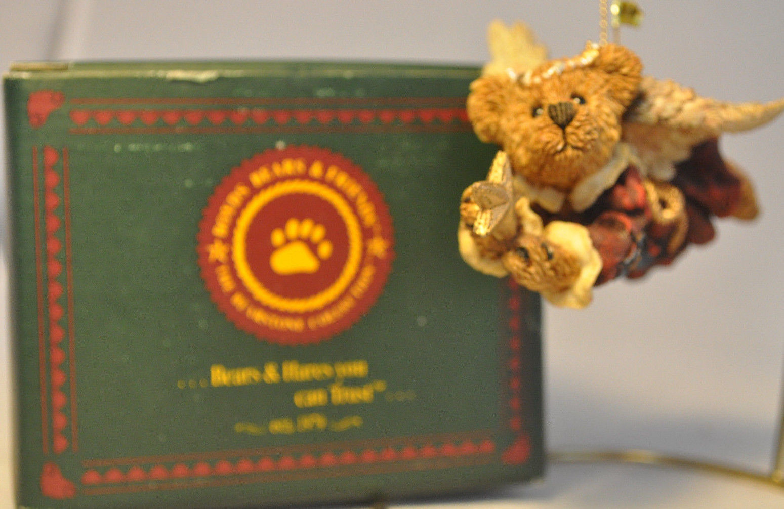 Boyds Bears & Friends: Charity ... The Angel Bear With Star - 02502 image 5