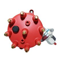 55-57 Ford Thunderbird Y-Block 272 292 Pro Series R2R Distributor Red Male Cap image 4