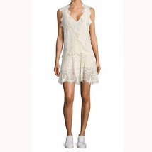 """FREE PEOPLE Lace Mini Dress """"Heart in Two"""", Ivory, Size M, L $108 - $54.99"""