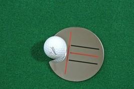 Golf target mirror. simple, putting mirror training ball training aid - $23.28