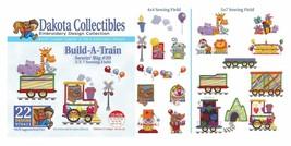 Dakota Collectibles 970411 Build-A-Train Multi Format Embroidery Designs CD - $18.05
