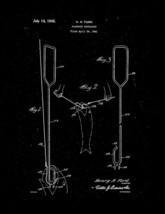 Fishhook Extractor Patent Print - Black Matte - $7.95+