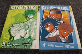 Getbackers manga 4 and 5 - $8.00