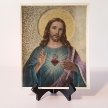 Old Photo Reproduction The Sacred Heart of Jesus Christ our Savior - BX26C  - $9.50