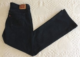 Levi's 515 Women's Blue Dark Wash Bootcut Jeans Size 8 M (31 x 31) EUC - $14.95