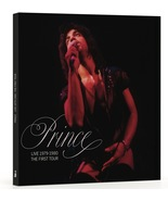 Prince Live 1979-1980 The First Tour Book Ltd To 1000 New - $52.00