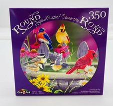 Learning to Fly ~ Round Jigsaw Puzzle ~ 350 Pcs New - $4.46