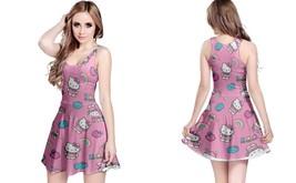 Hello kitty reversible dress for women thumb200