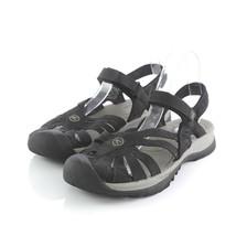 Keen Rose Black Suede Closed Toe Sport Trail Sandals Hook Loop Womens 11 - $39.51