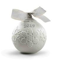 Lladro 2019 Porcelain Christmas Ball #8443 - $69.30