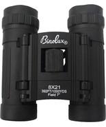 Black 8 x 21MM Compact Military Binoculars - $20.99
