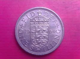 GREAT BRITAIN ONE SHILLINGS 1964    SEP06 - $1.00