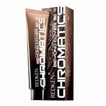 Redken Chromatics Beyond Cover 6Gi/6.32-Gold Iridescent Permanent Color Zero Amm - $14.75