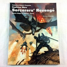 Palladium RPG RIFTS Coalition Wars Sorcerers Revenge Tolkeen Three Siemb... - $12.86