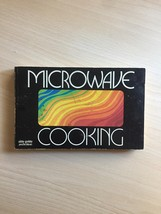 Vintage 1976 Microwave Cooking cookbook - soft cover