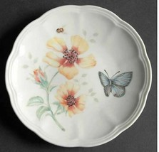 """6"""" Party Plate Butterfly Meadow by LENOX Width: 6 1/2 in Multicolor Butt... - $8.59"""