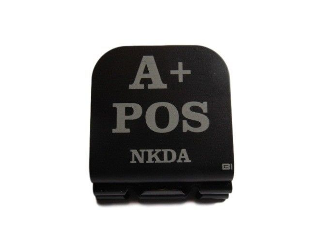 Primary image for A+ POS NKDA Laser Etched Aluminum Hat Clip Brim-it