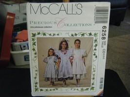 McCall's 6258 Girl's Dress, Pinafore, Petticoat & Headband Pattern - Siz... - $14.84