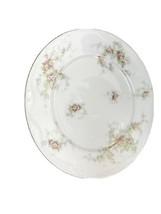 """Haviland Limoges 9 3/4"""" Plate France Floral Pink & Yellow Design - $37.74"""