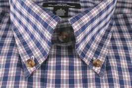 New Men's Kirkland Non Iron Casual Button Down W/ Collar Short Sleeve Shirt SZ M image 2