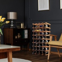 Wooden Wine Holder Bottle Rack for 40 Bottles - €51,43 EUR