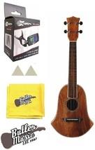 Oscar Schmidt OU250BELL Concert Size Solid Trembesi Ukulele w/Case, Pick... - $238.95
