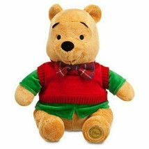 Disney Store 2013 Holiday Winnie the Pooh Plush Collectible NEW W TAGS - $39.00