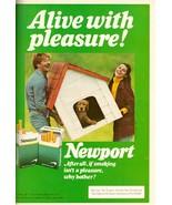 1981 Newport Cigarettes Smokes Retro Print Ad Vintage Advertisement VTG 80s - $6.33