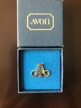 Vintage A For AVON Tac Pin For Sales Representatives From the '80's Orig... - $9.50