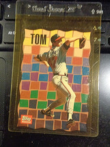 1992 92 Topps Magazine #TM74 Tom Glavine Braves ~ Nm - $5.55