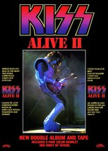 KISS Ace Frehley ALIVE II Album Promo Stand-Up Display - Rock Band Spaceman - $15.99