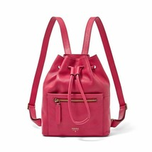 New Fossil Vickery Drawstring Leather Women Mini Backpack Variety Colors image 1