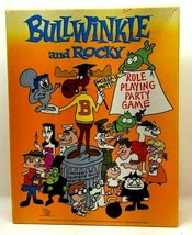 Bullwinkle & Rocky Roleplaying Party Game 1988 TSR  (G17) - $24.18