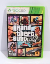 Grand Theft Auto V Five (Microsoft Xbox 360, 2013) Complete with Map - $12.95