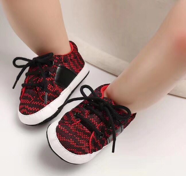 Soft Bottom 0-18 Months Baby Toddlers Shoes Fashion Walking Shoes #1112