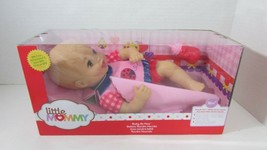 Fisher Price Baby So New Doll Little Mommy NIB pink red ladybug outfit + blanket - $24.74