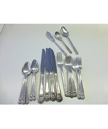 25 Piece 1941 ETERNALLY YOURS 1847 Rogers Bros Silver Plate Flatware Set... - $58.00