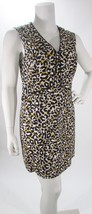 Anne Klein Animal Print Sleeveless Knee Length Sheath Dress Sz 14 or 16 NWT - $38.99
