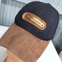 Walt Disney World Well Worn Lake Buena Vista Leather Strap Baseball Hat Cap - $16.51