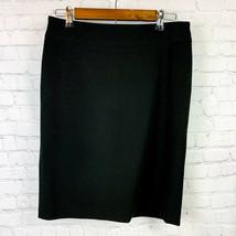 Chaiken Profile Womens Classic Straight Pencil Black Skirt Size 6 Fully ... - $18.74
