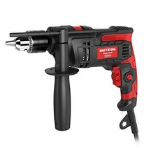 Meterk 7.0 Amp 1/2 Inch Corded Drill 850W, 3000RPM Dual Switch Between E... - $46.84