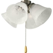 Progress Lighting AirPro 4-Light Brushed Nickel Light for Ceiling Fan P2... - $29.69