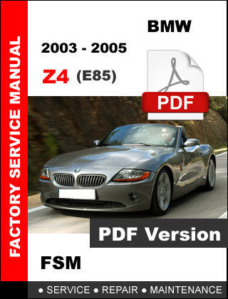 2004 bmw z4 maintenance schedule