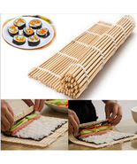 Bamboo Material Hand Roller Japanese Sushi Rolling DIY Maker Bamboo Mat - $9.18 CAD